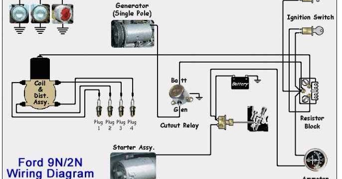 Ford Tractor Generator Wiring Diagram