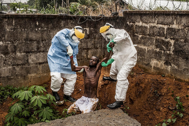 World Press Photo Contest 2015, Noticias generales, General News, Ebola in Sierra Leone, Pete Muller
