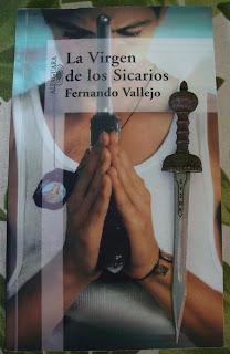 Portada del libro La Virgen de los Sicarios, de Fernando Vallejo