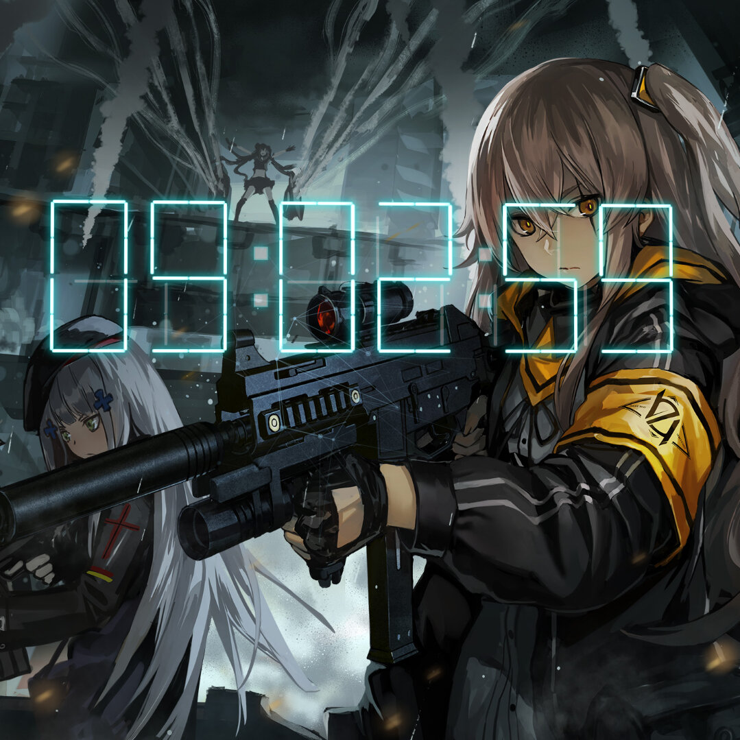 Download Girls Frontline 404 Squad Wallapaper Engine
