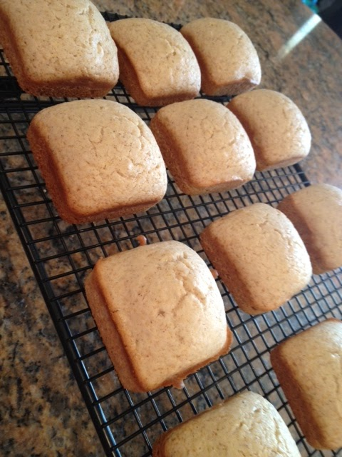 My Pampered Kitchen Adventures Mini Cinnamon Sugar Loaves