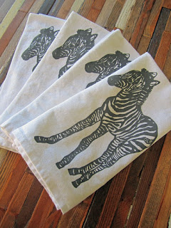 Reusable Cloth Napkins ohlittlerabbits