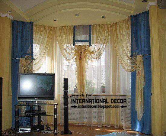 ready made curtains, modern curtain designs, blue curtains, sheer curtains