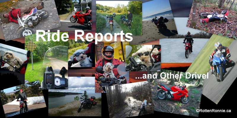 Ride Reports and Other Drivel