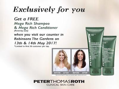 Peter Thomas Roth Malaysia Free Mega Rich Shampoo & Conditioner Giveaway