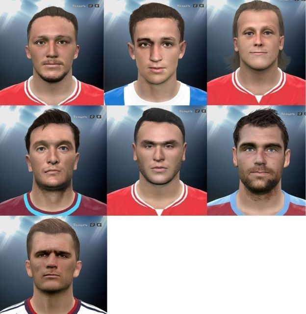 PES 2016 New Facepack