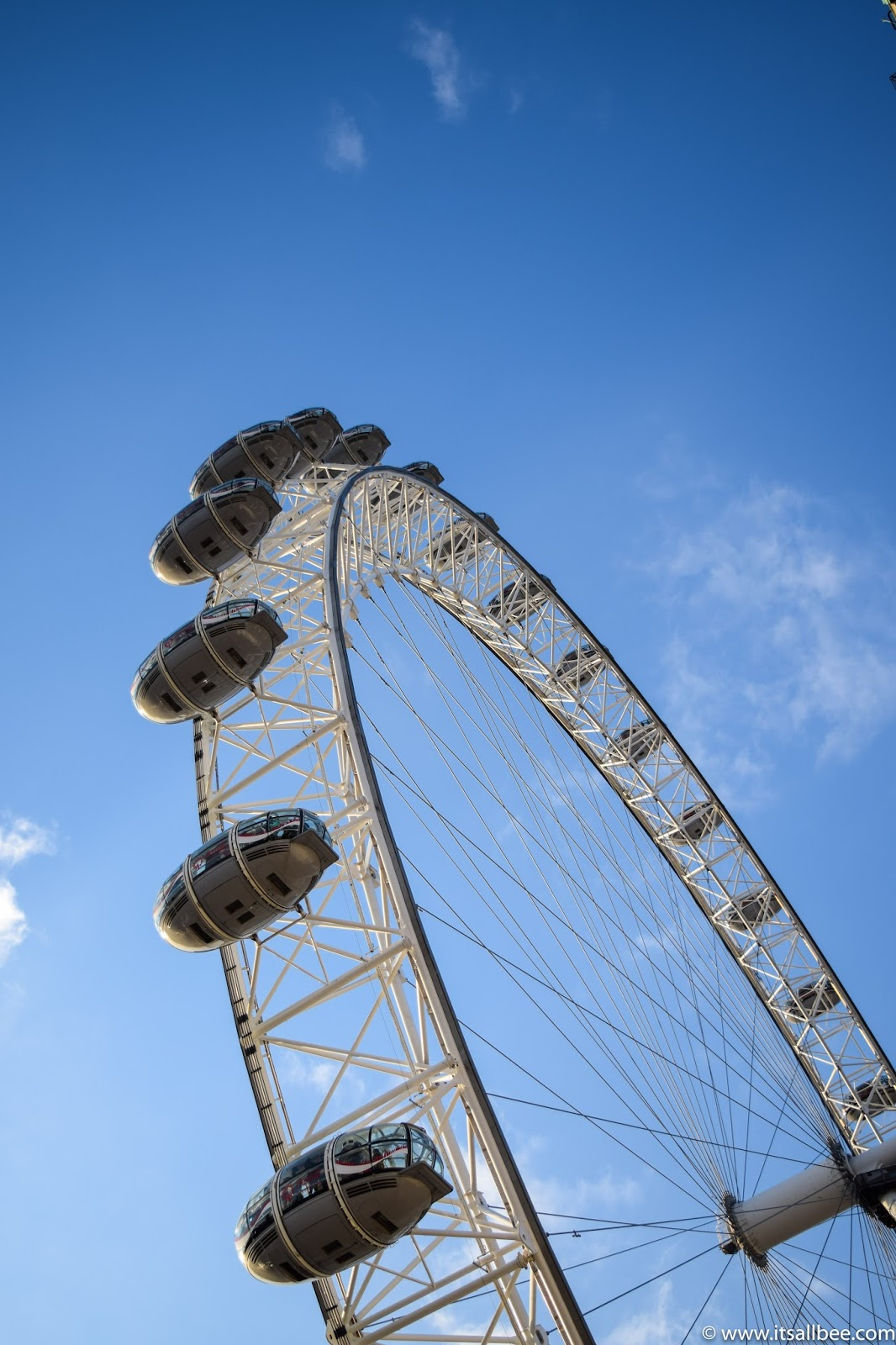 London Eye, Blue Skies