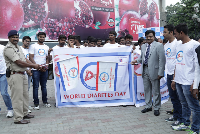 "Industry Experts are out for Diabetes Awareness on ""World Diabetes Day 2016"""