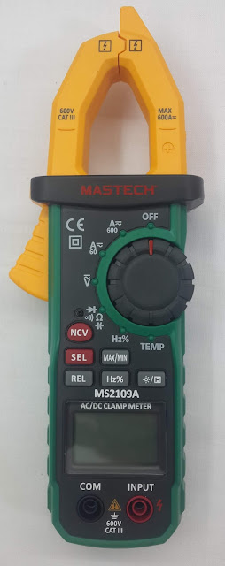 Detail of Clamp Meter MS2109A