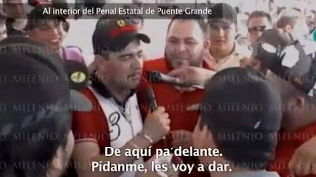 """VIDEO, """"¡Viva el Cártel Nueva Generación!"""" gritaban en Puente Grande así fue la narcofiesta de Don Chelo capo del CJNG que acaba de salio libre"""