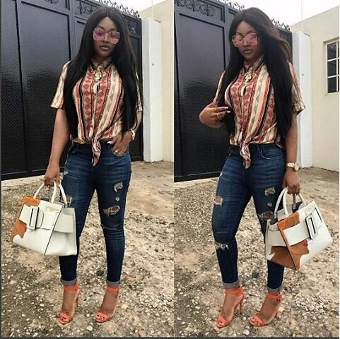 Mercy Aigbe is super hot