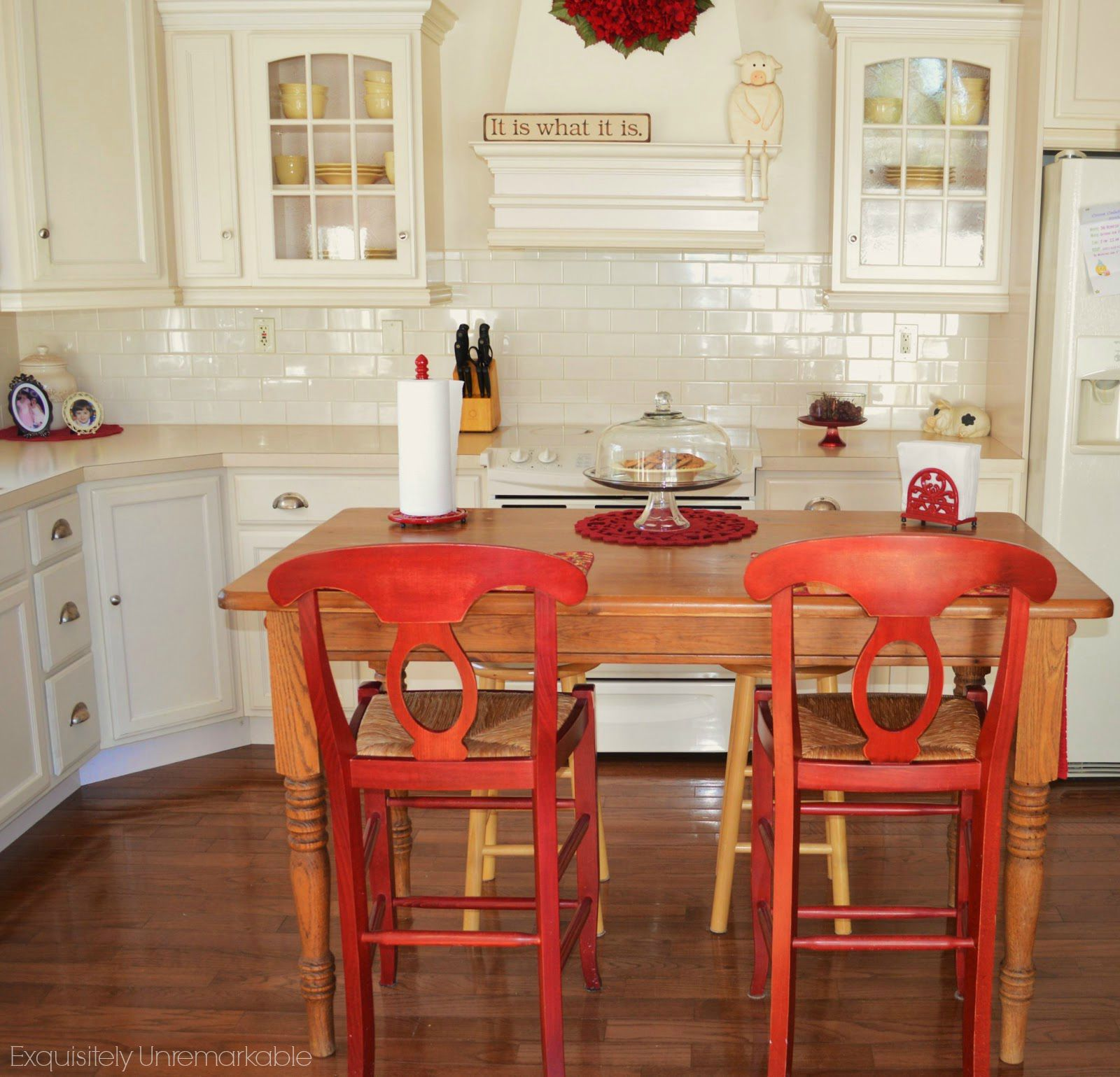 decorating cheats farmhouse table make kitchen table Turn a kitchen a kitchen table into a farmhouse island