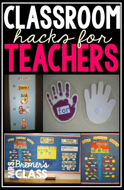 Classroom hacks for teachers