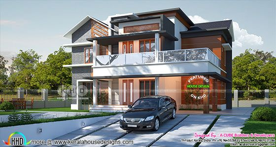 2762 square feet 4 bedroom modern  home