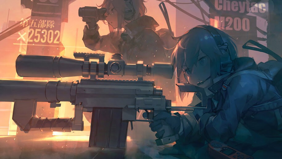 Anime, Girls Frontline, M200, Sniper, Rifle, 4K, #6.1283