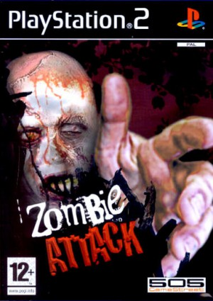 jaquette zombie attack playstation 2 ps2 cover avant g - Zombie Attack | PS2