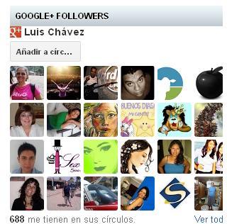 Crear un FanBox de Google plus en Blogger