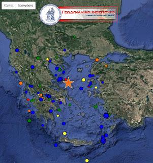 Σεισμός 5,2 Ρίχτερ στις Σποράδες