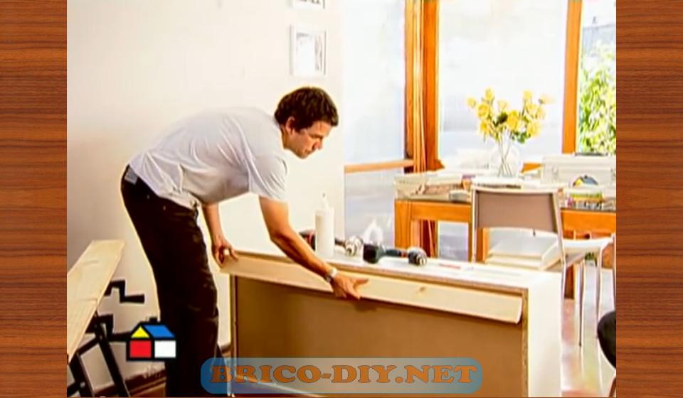 Como fijar muebles de melamina para cocina alacena alta for Como instalar una cocina integral pdf