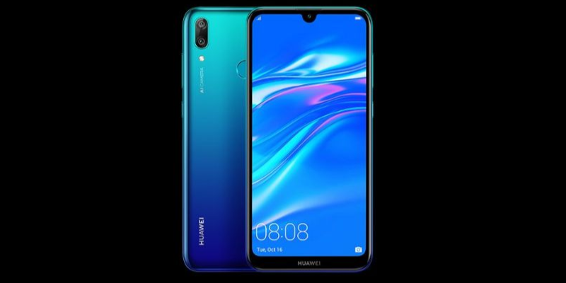 Huawei Y7 Pro (2019) Announced With Snapdragon 450 And Water-Drop Notch Display