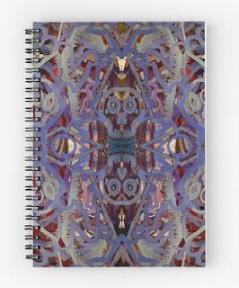 Skulls Purple Rouge by Melasdesign