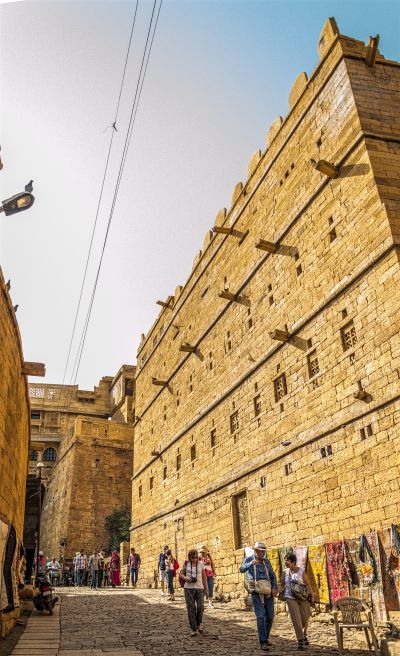Drainage system at Jaisalmer Fort