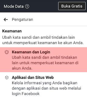 Cara Menambahkan Kontak Terpercaya Facebook