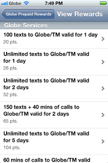 My Rewards My Globe App