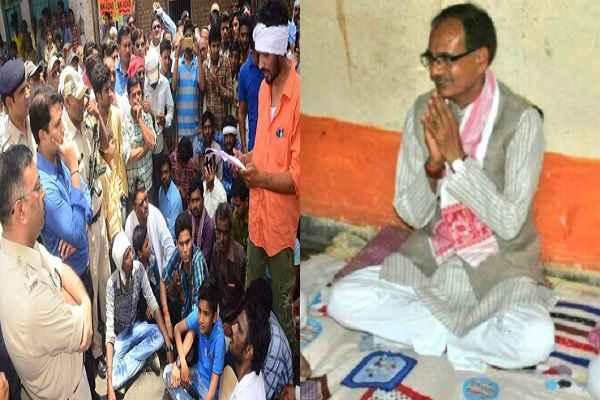 cm-shivraj-singh-start-indefinite-fast-for-peace-in-madhya-pradesh