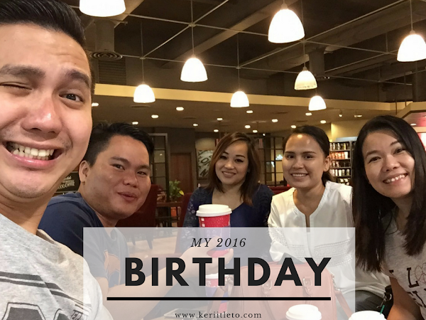 My 2016 birthday | Appreciations