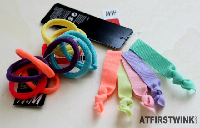 H&M neon hair ties