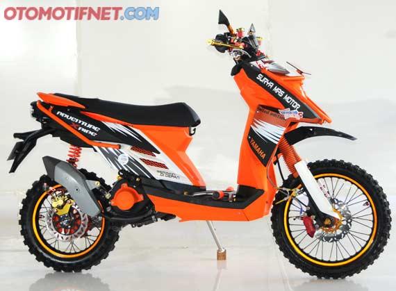 Yamaha X Ride Modif Cross