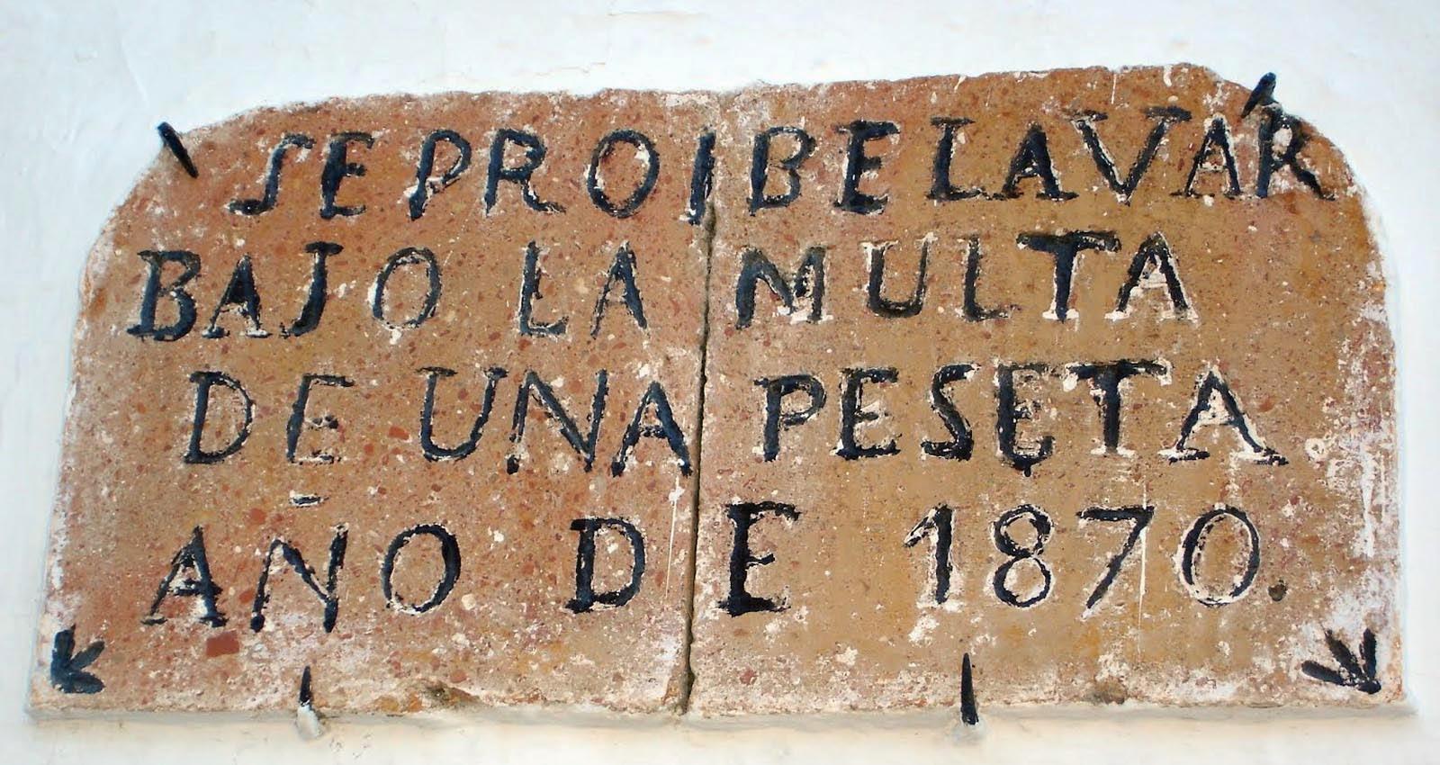 Resultado de imagen de fotos de fuentes de montejaque. multa de una peseta