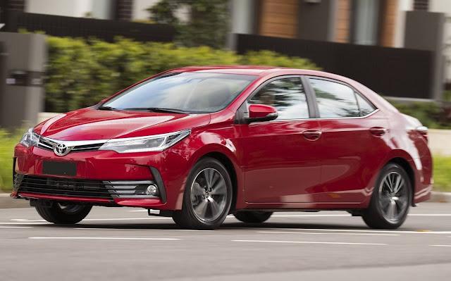 Toyota é a marca que mais vendeu carros em 2017