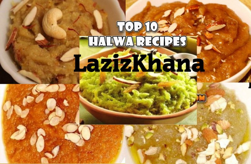 Top 10 Halwa Recipes