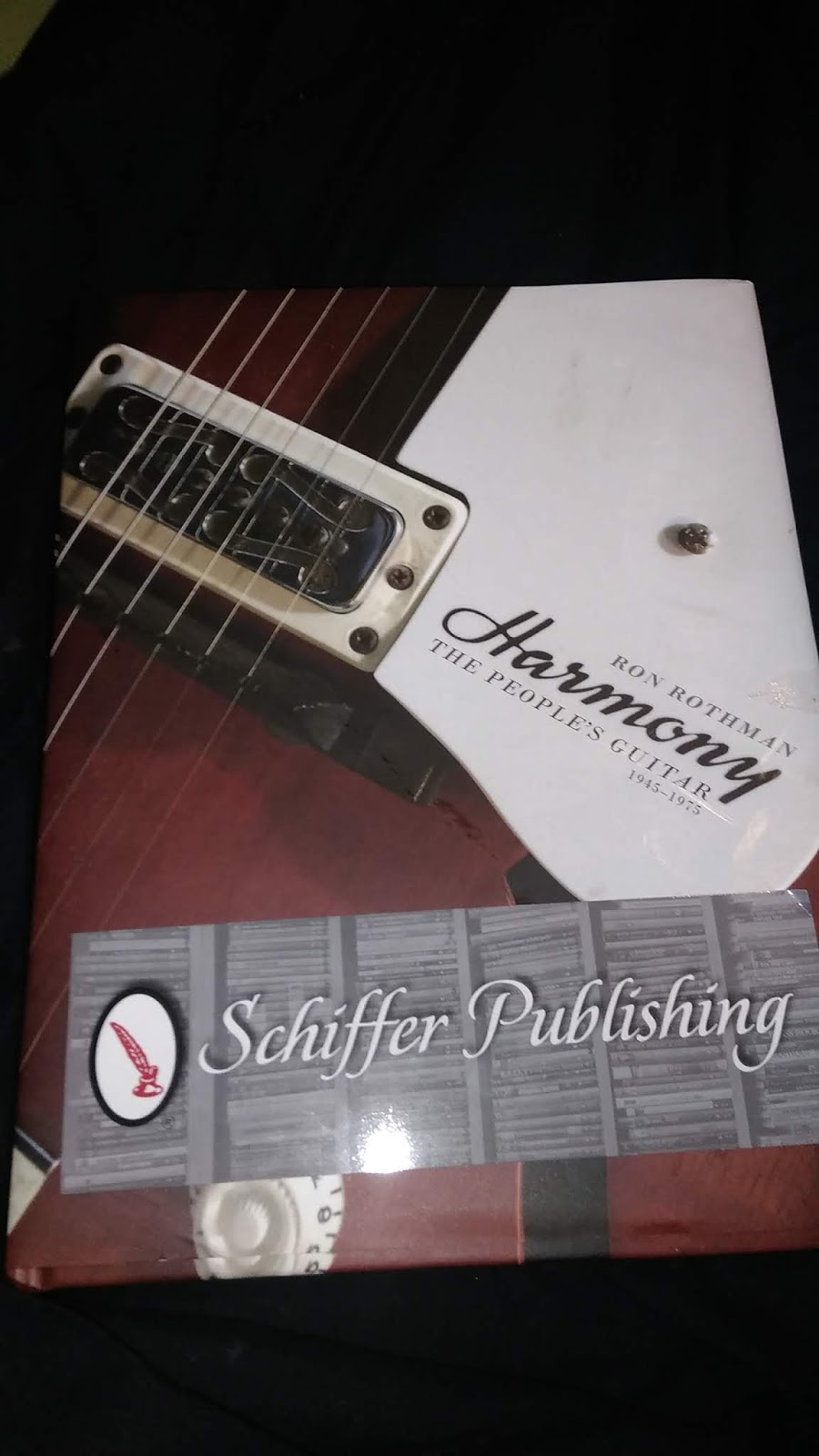 Thanks to Schiffer publishing for sending me this rad book! If you like  guitars you will truly enjoy this read.