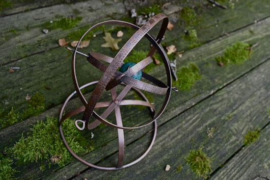 On the Construction of a Copper Armillary Sphere