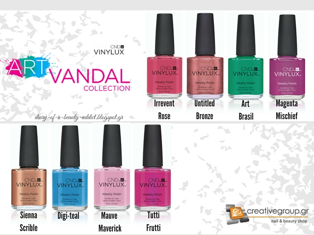 CND Art Vandal Collection ▏Spring 2016