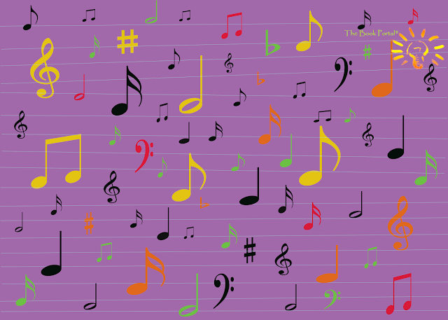 Music Madness picture using Photoshop by The Book Portal Blog