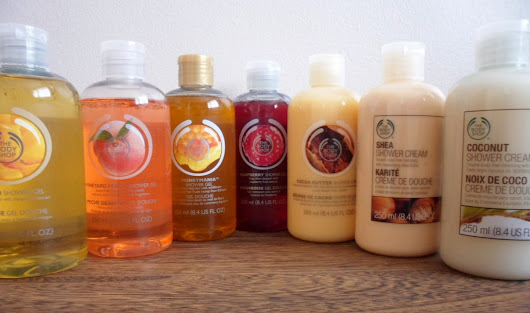 Review: The Body Shop - Shower Gels and Creams