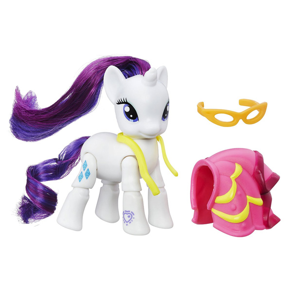 my little pony action play pack wave 2 rarity brushable