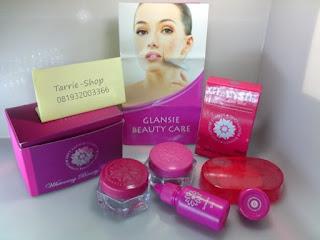 Paket Glansie Cream Lengkap Flek Acne