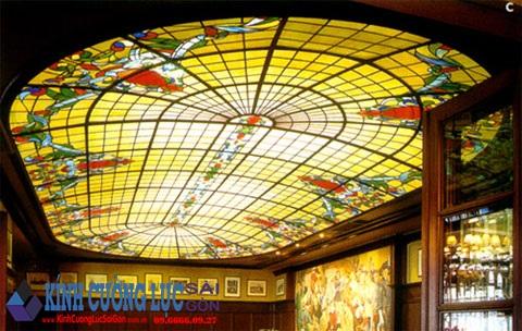 Trần kính trang trí - Sự biến hóa của nghệ thuật