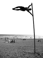 Human flag @ Yuigama Beach, Japan, September 2008