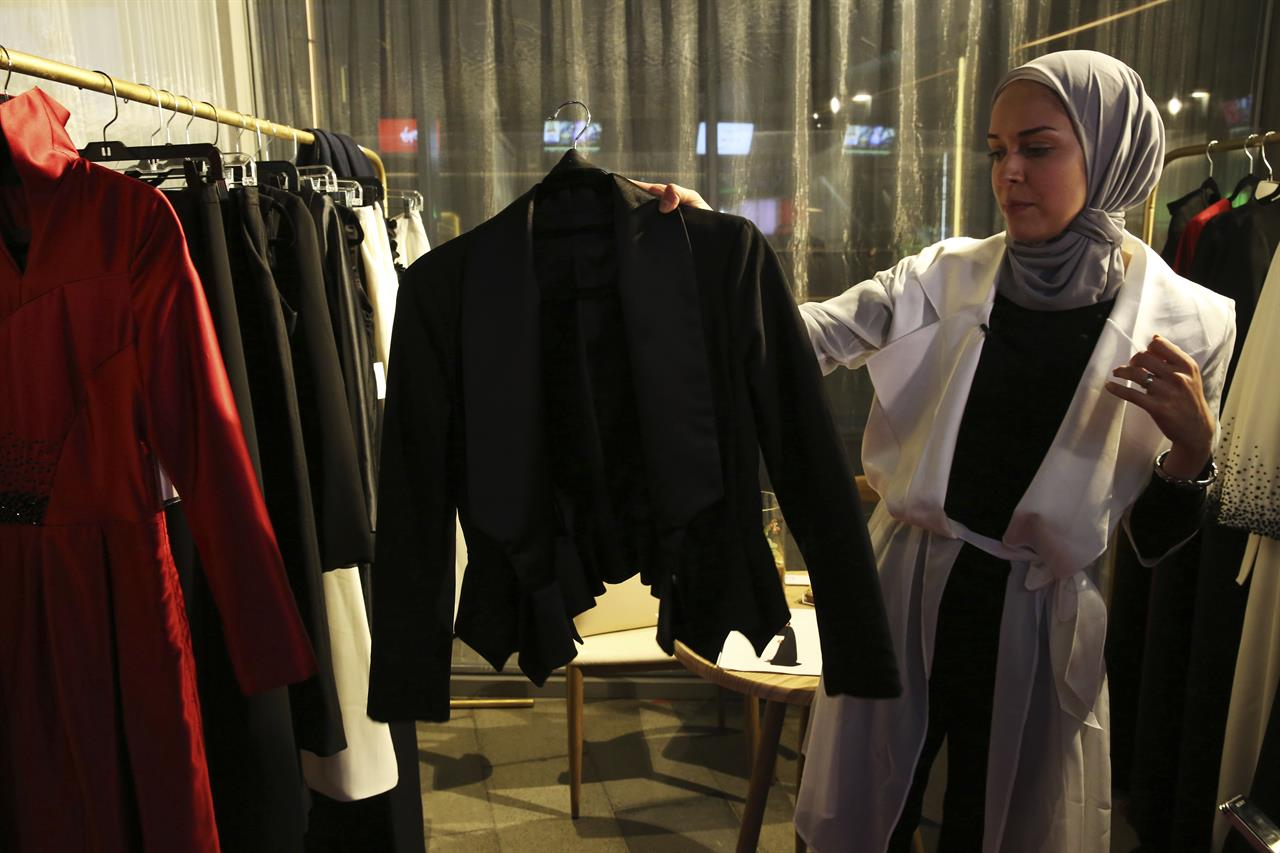 Some of the modest clothing items that are worn Muslim women's to cover themselves.