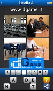 PACCHETTO 6 Soluzioni Trova la Parola - Foto Quiz con Immagini e Parole livello 4
