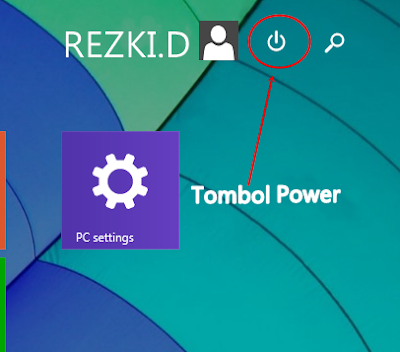 Cara Menampilkan dan Menghilangkan Tombol Power di Start Screen
