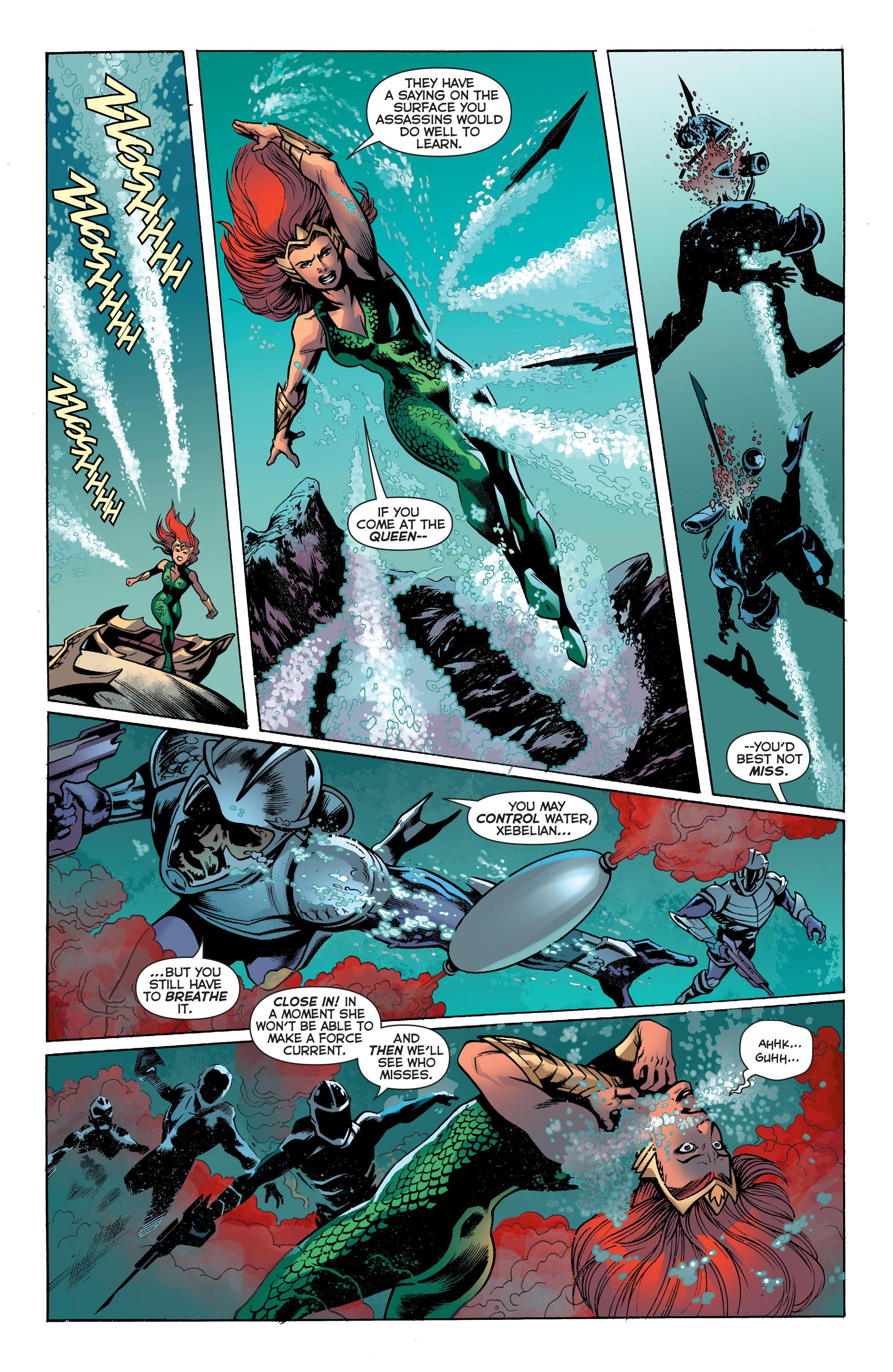 Read online Aquaman (2011) comic -  Issue #30 - 10