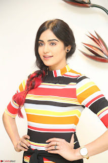 Adha Sharma in a Cute Colorful Jumpsuit Styled By Manasi Aggarwal Promoting movie Commando 2 (90).JPG