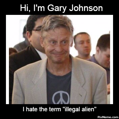 Image result for Gary Johnson social justice warrior